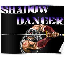 Shadow Dancer (Sega Genesis Title Screen) Poster