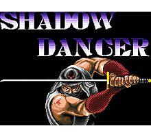 Shadow Dancer (Sega Genesis Title Screen) Photographic Print