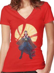 Doctor Strange - Sanctum Sanctorum Women's Fitted V-Neck T-Shirt