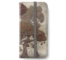 Autumn Chameleon  iPhone Wallet/Case/Skin