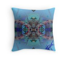 Octo-Series untitled Throw Pillow