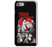 True Romance character collage art iPhone Case/Skin