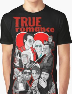 True Romance character collage art Graphic T-Shirt