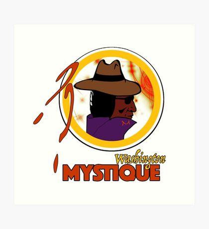 The Washington Mystique Art Print