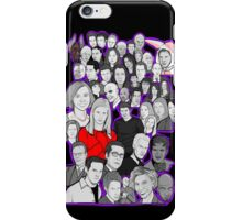 buffy the vampire slayer/Angel character collage iPhone Case/Skin