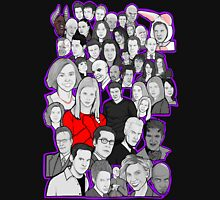 buffy the vampire slayer/Angel character collage Unisex T-Shirt