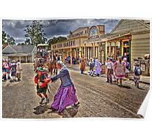 Crossing the street - Sovereignhill Poster
