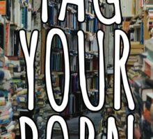 #TagYourBooks Sticker