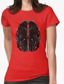 Inkblot Brain Womens Fitted T-Shirt