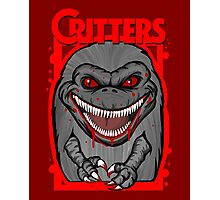 Critters Crite shirt 80s horror cult classic Photographic Print
