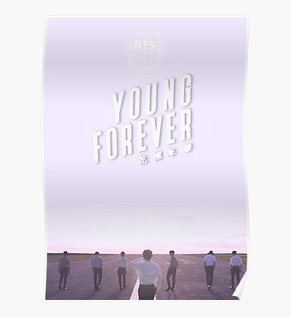 BTS/Bangtan Sonyeondan - Young Forever (Blue) Poster