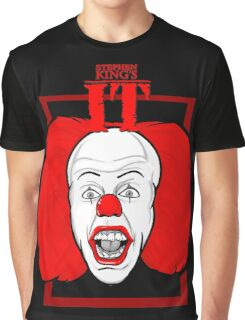 Stephen King It Pennywise the clown Graphic T-Shirt