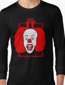 Stephen King It Pennywise the clown Long Sleeve T-Shirt