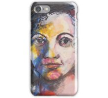 Portrait of  Young Girl iPhone Case/Skin