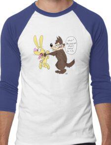 Typical Toons Men's Baseball ¾ T-Shirt