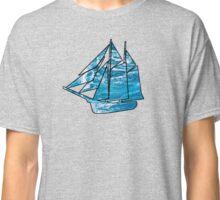 Sailboat Outline Classic T-Shirt