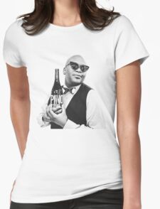 titus pra caralho Womens Fitted T-Shirt