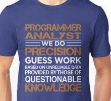 Programmer Analyst Unisex T-Shirt
