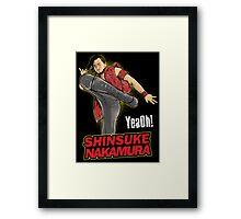 WWE Shinsuke Nakamura Roundhouse Framed Print