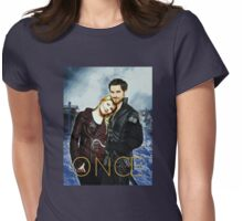 Captain Swan Comic Poster Version 1 Womens Fitted T-Shirt