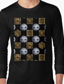 Chibi Pinhead & Puzzle Boxes Long Sleeve T-Shirt