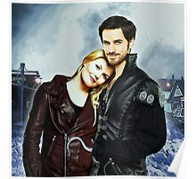 Captain Swan Comic Poster Logoless Design Version 1 Poster