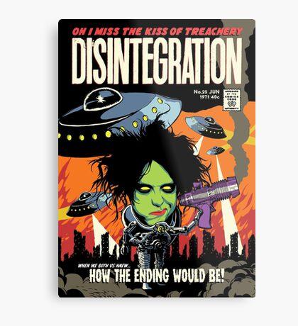TFTS | Desintegration Metal Print