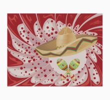 Sombrero and Maracas 2 One Piece - Long Sleeve