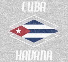 Retro Cuba Havana  Kids Tee