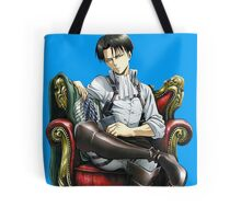levi from attack on titan throne design Tote Bag