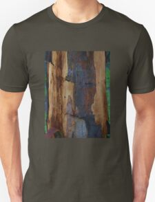 Abstract in Summer Gum Tree Bark  Unisex T-Shirt