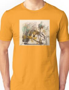 Elegant Ink Designs for large abstract wall art and textile prints Unisex T-Shirt