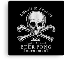 Beer Pong Annual Tournament Canvas Print