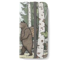 Bear in the Woods iPhone Wallet/Case/Skin