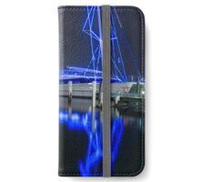 Electric Blue, Darling Harbour iPhone Wallet/Case/Skin