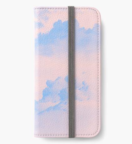 Pink Sky iPhone Wallet