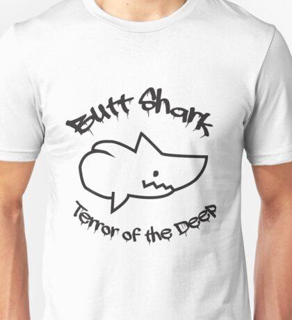 Butt Shark Terror of the Deep Unisex T-Shirt