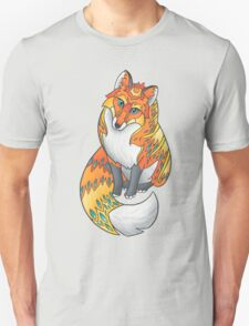 Mandala Fox Unisex T-Shirt