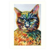 Cat- A- Tude Art Print