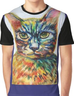 Cat- A- Tude Graphic T-Shirt
