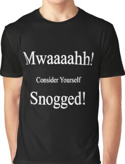 Mwaaah, consider yourself Snogged Graphic T-Shirt