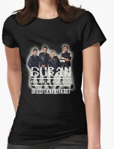 Duran Duran Paper Gods 2016 Womens Fitted T-Shirt