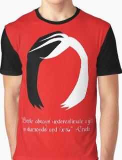 Cruella Quote - OUAT Graphic T-Shirt