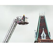 Fire & Rescue - Firemen Photographic Print