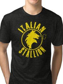 Italian Stallion Rocky Balboa Tri-blend T-Shirt