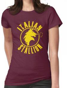 Italian Stallion Rocky Balboa Womens Fitted T-Shirt