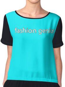 fashion genius. Chiffon Top