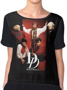 Vintage Duran Duran Chiffon Top