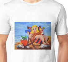 Lifes tough in East Gippsland. marg pearson Unisex T-Shirt