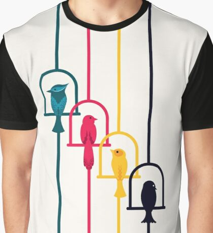 Chime in CMYK Graphic T-Shirt